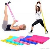 Pilates Bandı Plates Bantı Egzersiz Lastiği...