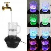 Magic Faucet Mug Renkli Led Işık Ev Ofis...