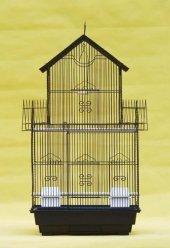 614 Kuş Kafesi Siyah 47x35x85 Cm