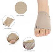 Ayak Çorabı 1 Çift Kumaş Ayak Ark Destek Çorabı...