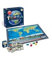 Terra Dünya Harita Oyunu Bilim Öğretici Eğitici...