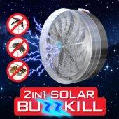 Güneş Enerjili Solar Sinek Kıran Sivrisinek Sinek Kovucu Cihaz