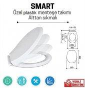 Nkp Smart Yavaş Kapanır Amörtisörlü Klozet Kapağı