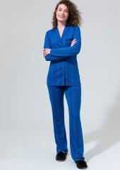 Dagi Kadın Uzun Kollu Önden Düğmeli Pijama Takımı Dgk12550