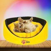 Kedi Köpek Simit Oval Yatak (Renk Seçenekli)