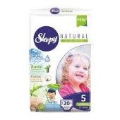 Sleepy Natural 5 Numara 20li Çocuk Bezi (20*5 100 Adet)