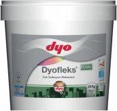 Dyofleks Sutut Elyaflı Çatı Su İzolasyon Boyası 2.5 Lt Beyaz