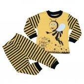 Erkek Kız Bebek Arı Modelli Pijama Takımı