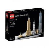 Lzc21028 Architecture New York City 598 Pcs +12 Yaş Lego