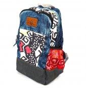 Old Cotton Cargo 5005 Lyon Bag Sırt Okul Seyahat Çantası