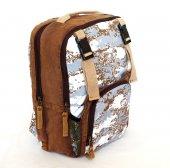 Old Cotton Cargo 5074 Abley Bag Sırt Okul Seyahat Çantası