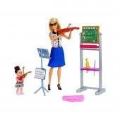 Barbie Büyüyünce Müzik Öğretmeni Oyun Seti