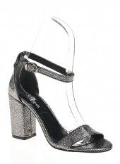 19631Antresit Bayan Topuklu Ayakkabı