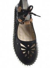 45150Siyah Bayan Casuel Ayakkabı-4
