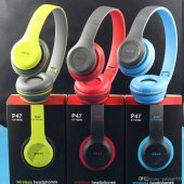 P47 Wireless Kablosuz Bluetooth Kulaklık Mp3...