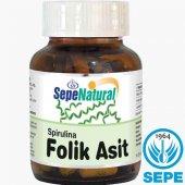 Spirulina & Folik Asit 60 Kapsül 380 Mg Folic Acid 400 �g Yosun