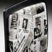 Adore Pop Art Çalışma Sandalyesi CHR-020-SB-1 Siyah-Beyaz-6