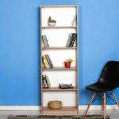 Adore Max 5 Raflı Kitaplık Ktp 150 Ss 1 Sonoma