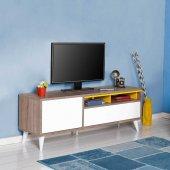Adore Retro Wide Kapaklı Çekmeceli Tv Sehpası...