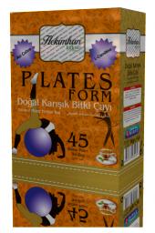Hekimhan Bitkisel Plates Form Karışık Çay 45 Li