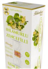 Hekimhan Bitkisel Ihlamurlu Zencefilli Karışık Çay 45 Li