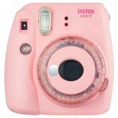 Fujifilm instax Mini 9 +10'lu Film+Askı (Toz pembe Limited Edition)-2