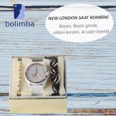 New London Silikon Kordon  Bayan Kol Saati