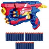 Blaze Storm Manuel Soft Bullet Gun + 30 Adet...