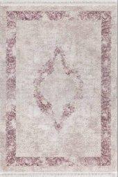 Flora Ayşıl 1716ap Pembe Renk Halı