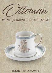 Schafer Ottoman Kahve Fincan Takımı Mav01 65459