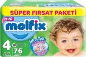 Molfix Süper Fırsat Paketi 4 Numara 76 Adet Bebek Bezi
