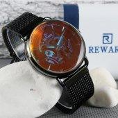 Reward Rd32003m Hasırlı Otomatik Spor Erkek Si.si.si Kol Saati
