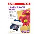 Daxi A4 Laminasyon Filmi 125 Micron 100lü Ücretsiz Kargo-2