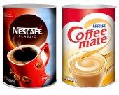 Nescafe Classic 1000 Gr + Coffe Mate 2000 Gr (Teneke)