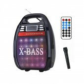 Knstar Rx 810bt Bluetooth Karaokeli Taşınabilir Ses Sistemi Usb Tf Fm Radyo