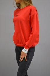 Timeless Kırmızı Sweatshirt-2