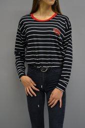 Authentic Bel Büzgülü Sweatshirt