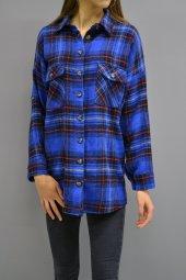 Mavi Oduncu Gömlek