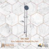 Kupp Luna Sabunluklu Sürgülü Duş Seti-2