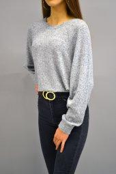 Yumoş Gri Sweatshirt-2