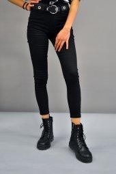Yüksek Bel Siyah Pantolon