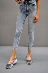 Yüksek Bel Açık Mavi Pantolon