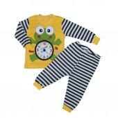 Kız Erkek Bebek 1 3 Yaş Modelli Pijama Takımı
