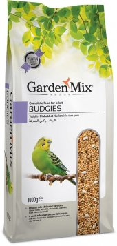 Garden Mix Platin Seri Muhabbet Kuşu Yemi 1 Kg ( 10 Adet )