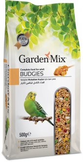 Garden Mix Super Premium Ballı Muhabbet Kuşu Yemi 500 gr ( 20 Adet )