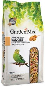 Garden Mix Platin Ballı Muhabbet Kuş Yemi 1000 Gr (5 Adet)