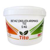 Tito Toz Beyaz Çikolata Aroması Suda Çözünür 5...