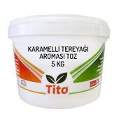 Toz Karamelli Tereyağı Aroması 5 Kg