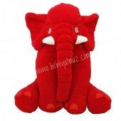 Uyku Arkadaşım Fil Kırmızı 60 Cm Jumbo Boy