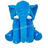 Uyku Arkadaşım Fil Mavi 60 Cm Jumbo Boy
